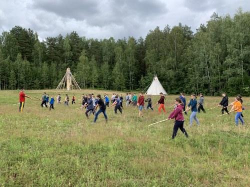 Jaunimo Aikido vasaros stovykla 2019  II pamaina