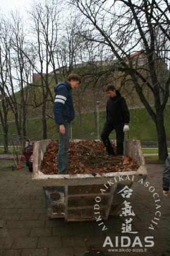 """Visuomeninė akcija """"GELBĖKIM KAŠTONĄ"""", 2012 11 24"""